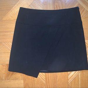 Black Zara Asymmetric Skirt